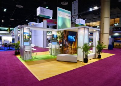 Meet Puerto Rico - Hybrid trade show exhibit