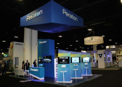 Custom 20x30 Trade Show Display - Peraton